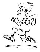 running-coloring-page-15